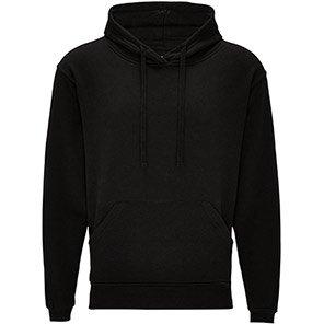 Arco Essentials Black Work Hoodie