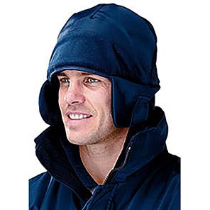 Arco Navy Fleece-Lined Trapper Hat