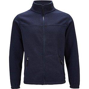 Arco Essentials Unisex Navy Fleece Jacket