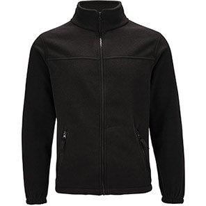 Arco Essentials Unisex Black Fleece Jacket