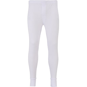 Arco Essentials White Thermal Long Johns