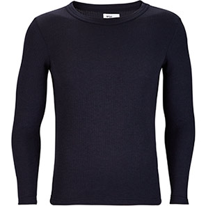 Arco Essentials Navy Long-Sleeve Thermal Vest