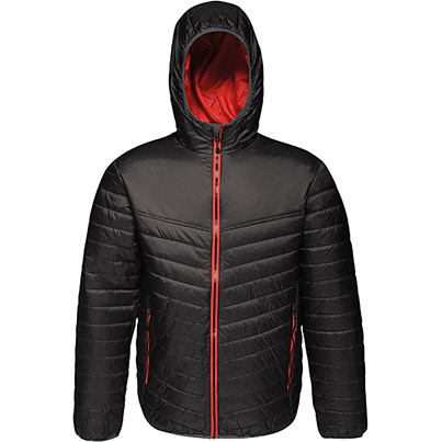 Regatta Acadia II Thermal Jacket Primary Base Colour Black Secondary Base Colour Red