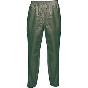 Regatta Pro Packaway Laurel Green Waterproof Overtrousers