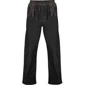 Regatta Pro Packaway Black Waterproof Overtrousers
