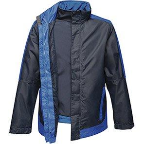Regatta Contrast Navy/Royal Blue 3-in-1 Waterproof Jacket