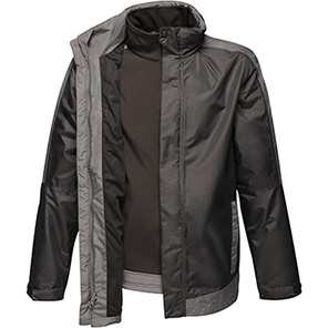 Regatta Contrast Black/Seal Grey 3-in-1 Waterproof Jacket