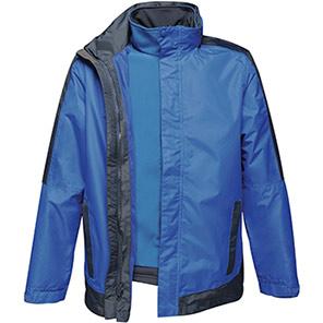 Regatta Contrast Royal Blue/Navy 3-in-1 Waterproof Jacket