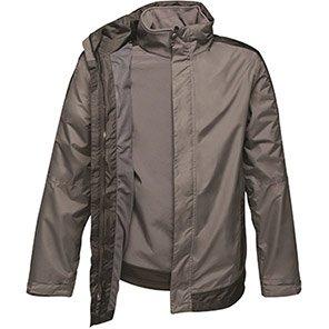 Regatta Contrast Seal Grey/Black 3-in-1 Waterproof Jacket