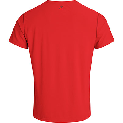 Berghaus Mulvey Tech Tee Primary Base Colour Red Secondary Base Colour N/A