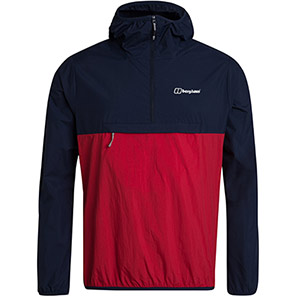 Berghaus Corbeck Red/Navy Windproof Jacket