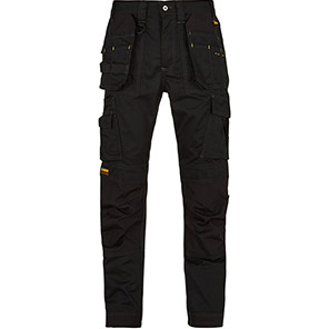 DEWALT Thurlston Pro Black Stretch Trousers