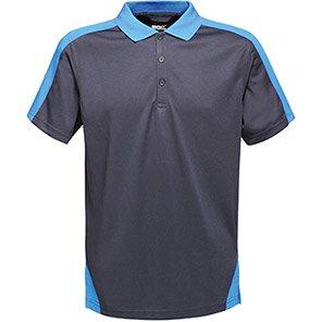 Regatta Contrast Navy/Royal Blue Polo Shirt
