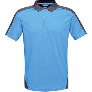 Regatta Contrast Royal Blue/Navy Polo Shirt