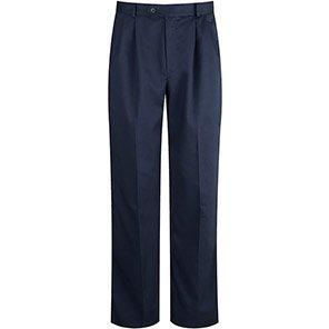 Alsico Alsicare Men's Navy Flexi-Stretch Trousers