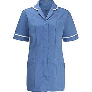 Alsico Alsicare Advantage Women's Blue/White Tunic
