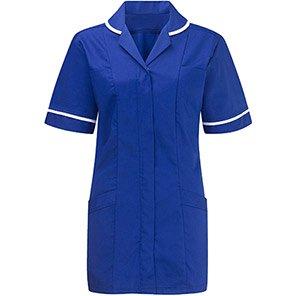 Alsico Alsicare Advantage Women's Royal Blue/White Tunic
