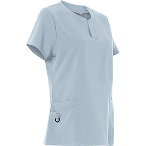 Alsi 4-way Stretch Male Scrub Tunic Primary Base Colour Light Blue Secondary Base Colour N/A