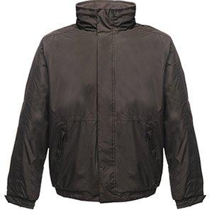 Regatta Dover Black Waterproof Bomber Jacket