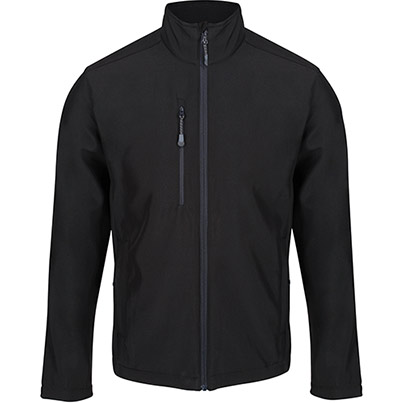 Regatta TRA600 Honestly Made Recycled Softshell Jacket Primary Base Colour Black Secondary Base Colour N/A