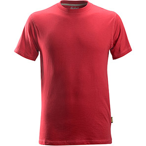 Snickers 2502 Classic Chili Red T-Shirt
