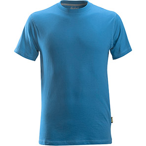 Snickers 2502 Classic Ocean Blue T-Shirt