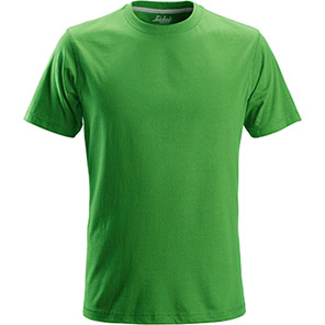 Snickers 2502 Classic Apple Green T-Shirt