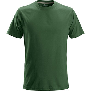 Snickers 2502 Classic Forest Green T-Shirt
