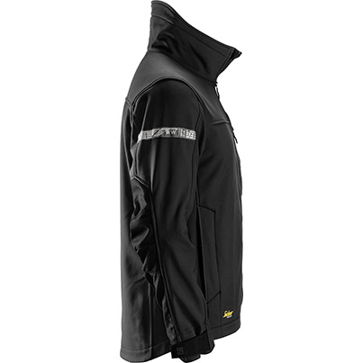 Snickers 1200 Allround Soft Shell Black