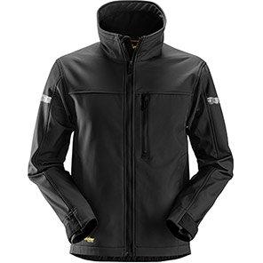 Snickers AllroundWork 1200 Black Softshell Jacket