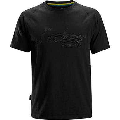 Snickers 2580 Logo T-Shirt Primary Base Colour Black