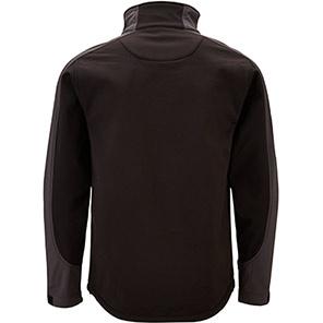 Trojan Trail Soft-Shell Jacket Black/Grey