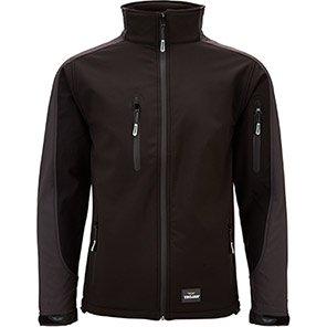 TROJAN Trail Black/Grey Softshell Jacket