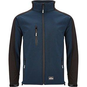 TROJAN Trail Navy/Black Softshell Jacket