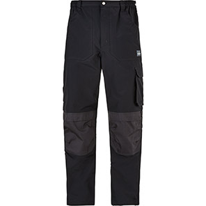 TROJAN Black/Grey Waterproof Tradesman Trousers