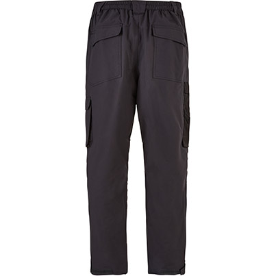 Trojan Waterproof Trademens Trousers Grey/Black