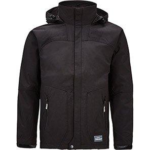 Trojan Interactive Shell Jacket Black