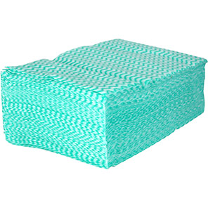 Arco Green Medium-Duty Cleaning Cloths (Pack of 300)