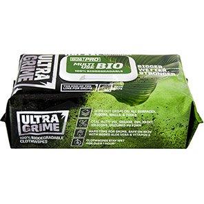 UltraGrime Pro Bio Wipes (Pack of 100)