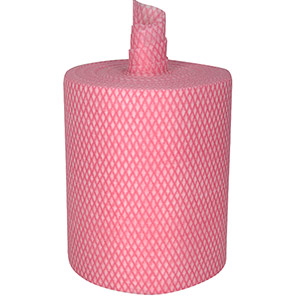 Arco Red Diamond Wipe Roll