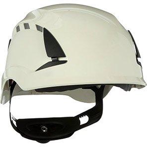 3M SecureFit X5501V-CE White Vented Safety Helmet (Pack of Four)