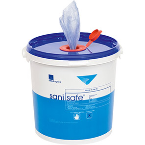 Sanisafe Polypropylene Wet Wipes
