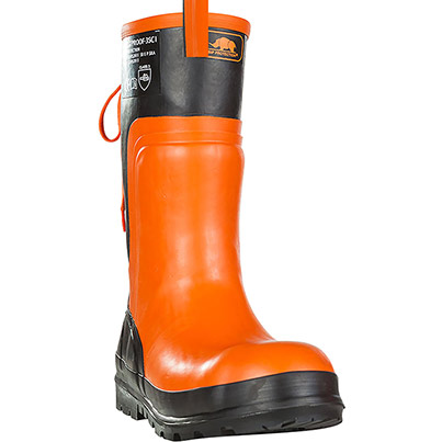 SIP Forestproof Chainsaw Safety Boot Primary Base Colour Orange Secondary Base Colour N/A