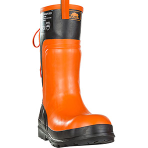SIP Protection Forestproof 3SC1 Orange Chainsaw Boots