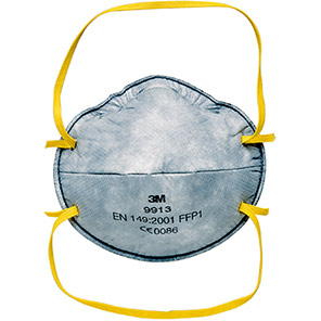 3M 9913 Nuisance-Odour FFP1 Dust Mask (Pack of 20)