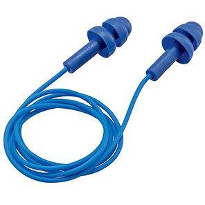 uvex Whisper Corded Detectable Reusable Earplugs (Pack of 50 Pairs)