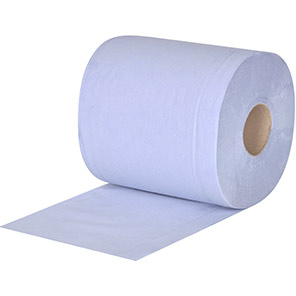 Centrefeed Rolls Arco 2Ply Embossed Blue Towels 120 metre