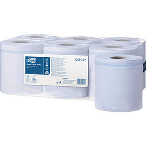 Tork Universal Blue 150m Two-Ply Basic Paper Towel Centrefeed Rolls (Case of 6)