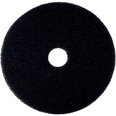 5 3M Black Stripping Floor Pad 17In