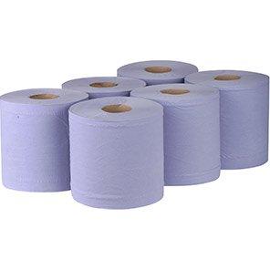 Essentials Paper Blue w.Core 6x150m